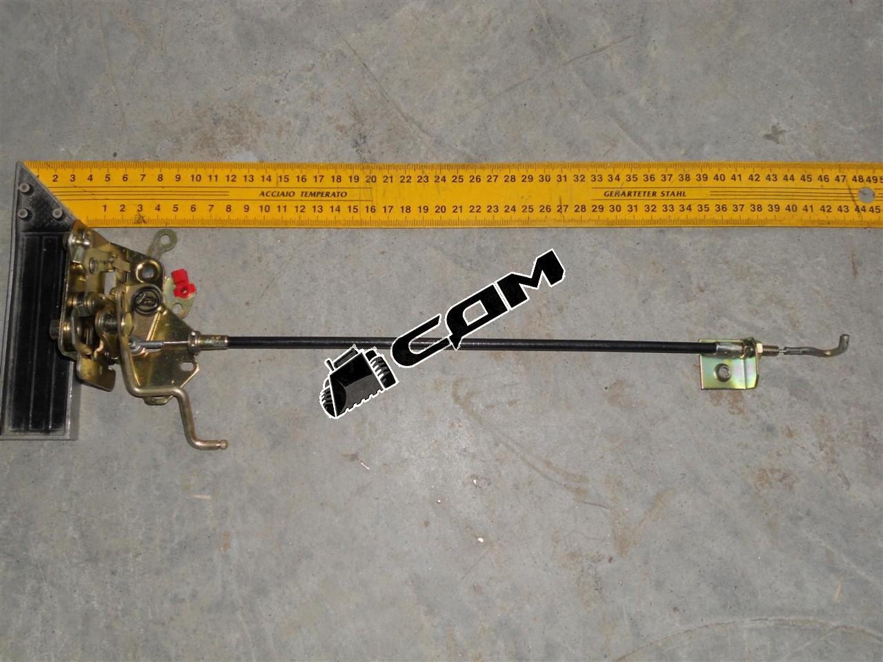 Замок двери правый (механизм с тросом) HOWO  WG1642340015/2